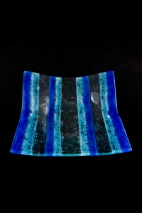32cm  Square Bubble Bowl-stripes2