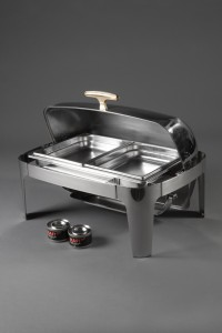 Roll Top Chaffing Dish