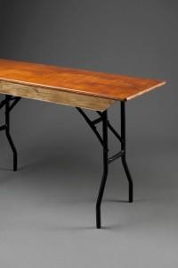 Slim Trestle Table