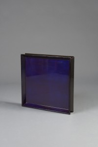 lacquer Tray Medium Black:Purple Reversable