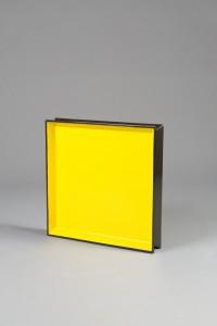 lacquer Tray Medium Black:Yellow Reversable