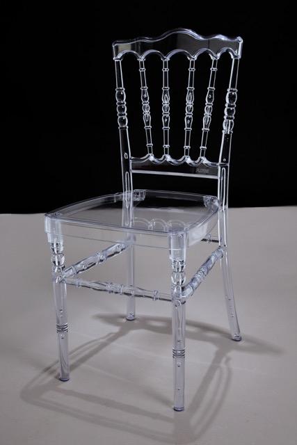 Napoleon Clear Acrylic Chair