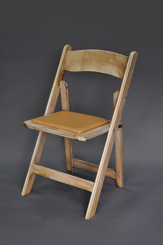 Rustic Folding Leather Chair